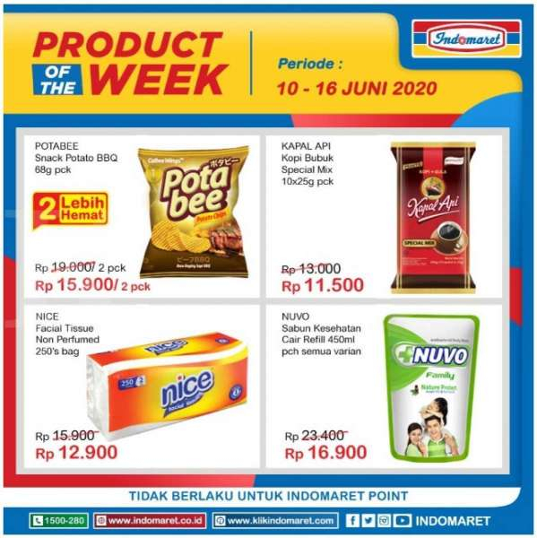 Promo Indomaret Product of The Week 10-16 Juni 2020
