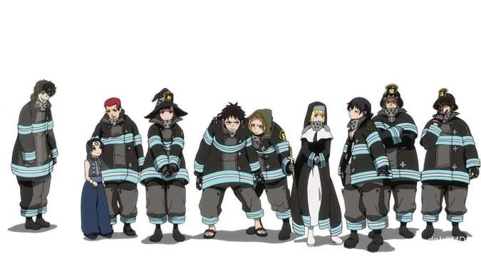 Anime Fire Force season 2 siap tayang Oktober 2020