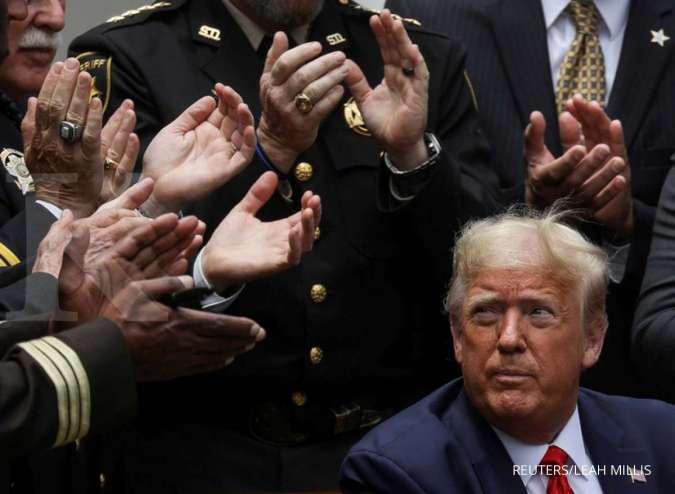 Ingin tangkap Donald Trump, Iran menabuh genderang perang dengan AS? - Internasional Kontan