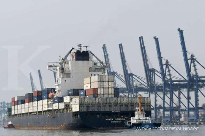 Impor melandai, pajak perdagangan internasional ikut lesu