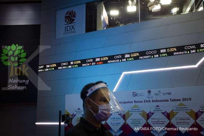 IHSG turun 0,74% sesi pagi Rabu (16/9), saham-saham bank dijual asing.