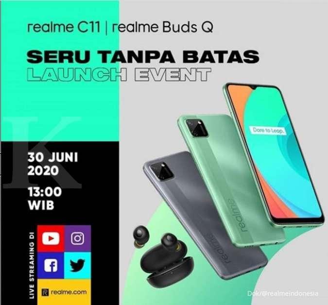 Realme C11 resmi masuk Indonesia, penasaran hargan