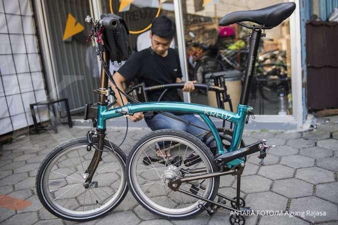 Harga sepeda Kreuz made in Bandung lebih terjangkau, mirip