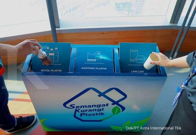 Gerakan Semangat Kurangi Plastik Astra kumpulkan 47.013 kg sampah plastik