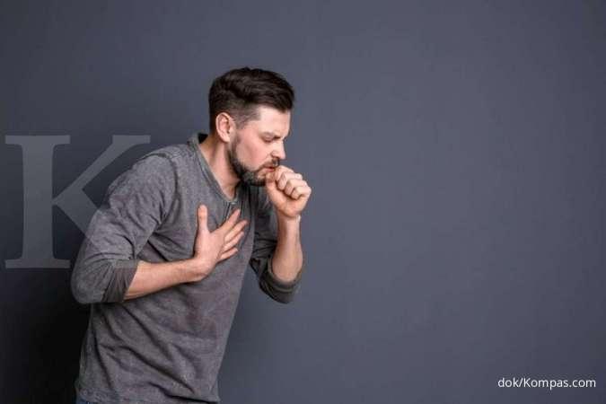 Batuk kering termasuk dalam salah satu gejala utama Covid-19.