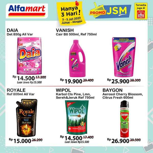 Promo Alfamart Jumat Sabtu Minggu Terbaru 3 5 Juli