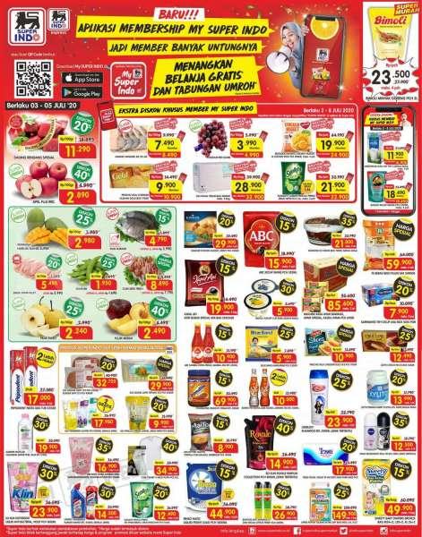 Hadir Lagi Promo Superindo Menyapa Pelanggan Setiannya Periode 3 5 Juli 2020 Ada Diskon Hingga 40 Tribun Kaltim