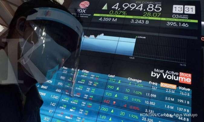 IHSG uji level 5.000, cermati saham-saham ini pada