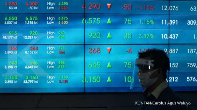 IHSG diprediksi melanjutkan pelemahan, saham-saham