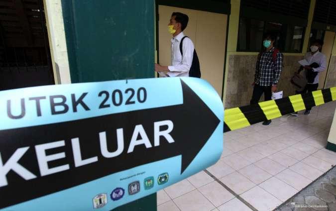 Daftar 10 SMA terbaik dengan nilai rerata TPS tertinggi di Indonesia 2020 versi LTMPT