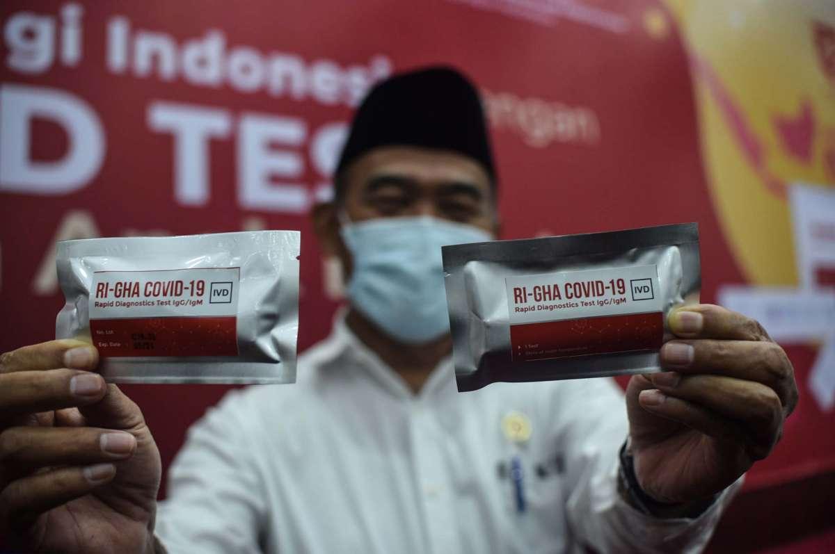 Menko PMK luncurkan alat tes cepat buatan dalam negeri