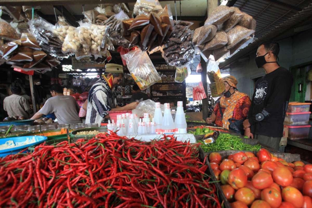 Pemulihan ekonomi di pasar tradisional
