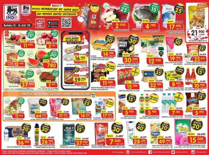 Katalog promo Superindo 13-16 Juli 2020