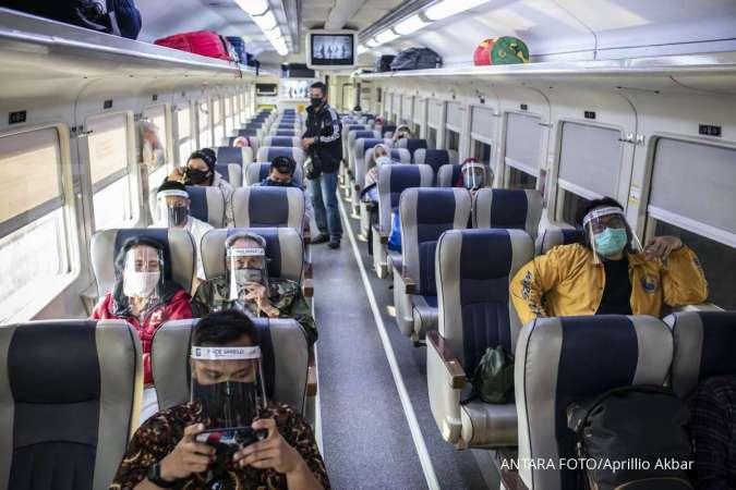 Pergi naik keretaapi bisa rapid test di stasiun dengan membayar Rp 85.000 saja.