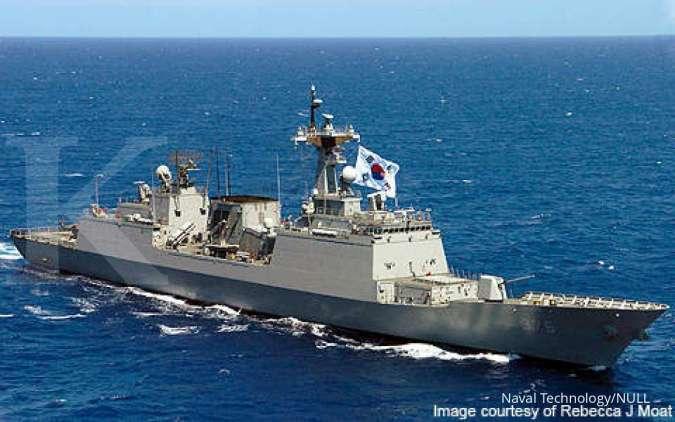 Kapal Destroyer Chungmugong Yi Sun-shin