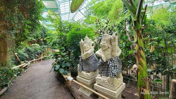 Rumah hutan tropis di Kebun Binatang Berlin