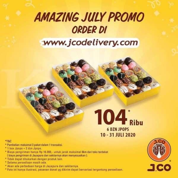 Promo J.CO 10-31 Juli 2020
