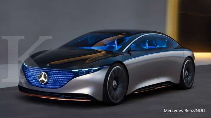 Mobil Listrik Mercedes Benz Eqs Akan Kalahkan Tesla Model S Dalam Hal Ini