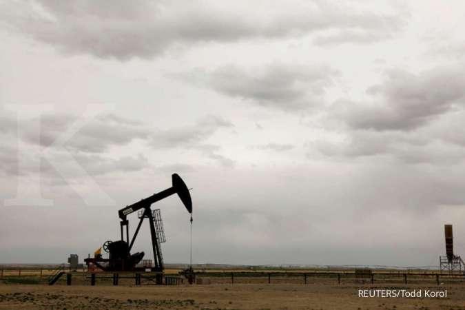 Harga minyak naik tipis setelah turun dalam dua pekan beruntun