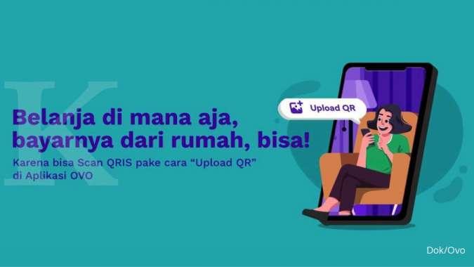 Kini, pengguna OVO dapat melakukan pembayaran di merchant favorit dengan mengunggah gambar QRIS merchant pilihan dari galeri ponsel.