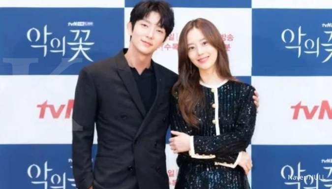 Reuni di drakor baru, Lee Jun Ki & Moon Chae Won saling beri pujian