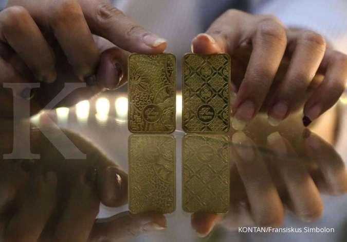 Emas melambung, ini rekomendasi analis untuk saham emiten emas
