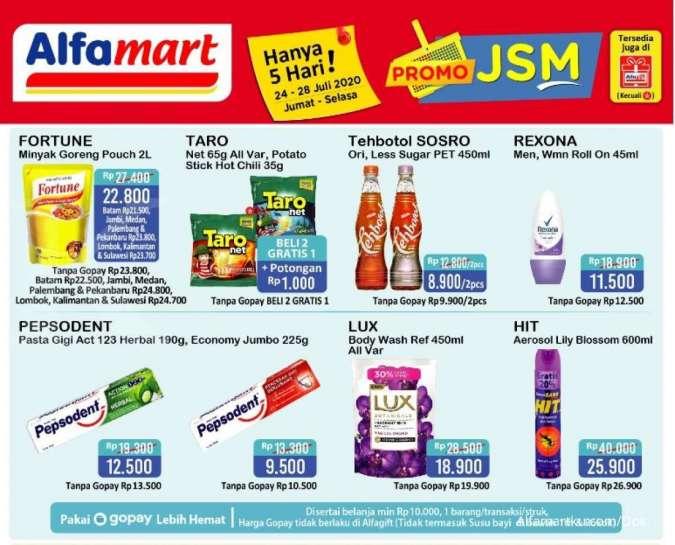 Promo Jsm Alfamart 24 28 Juli 2020 Diskonan Weekend
