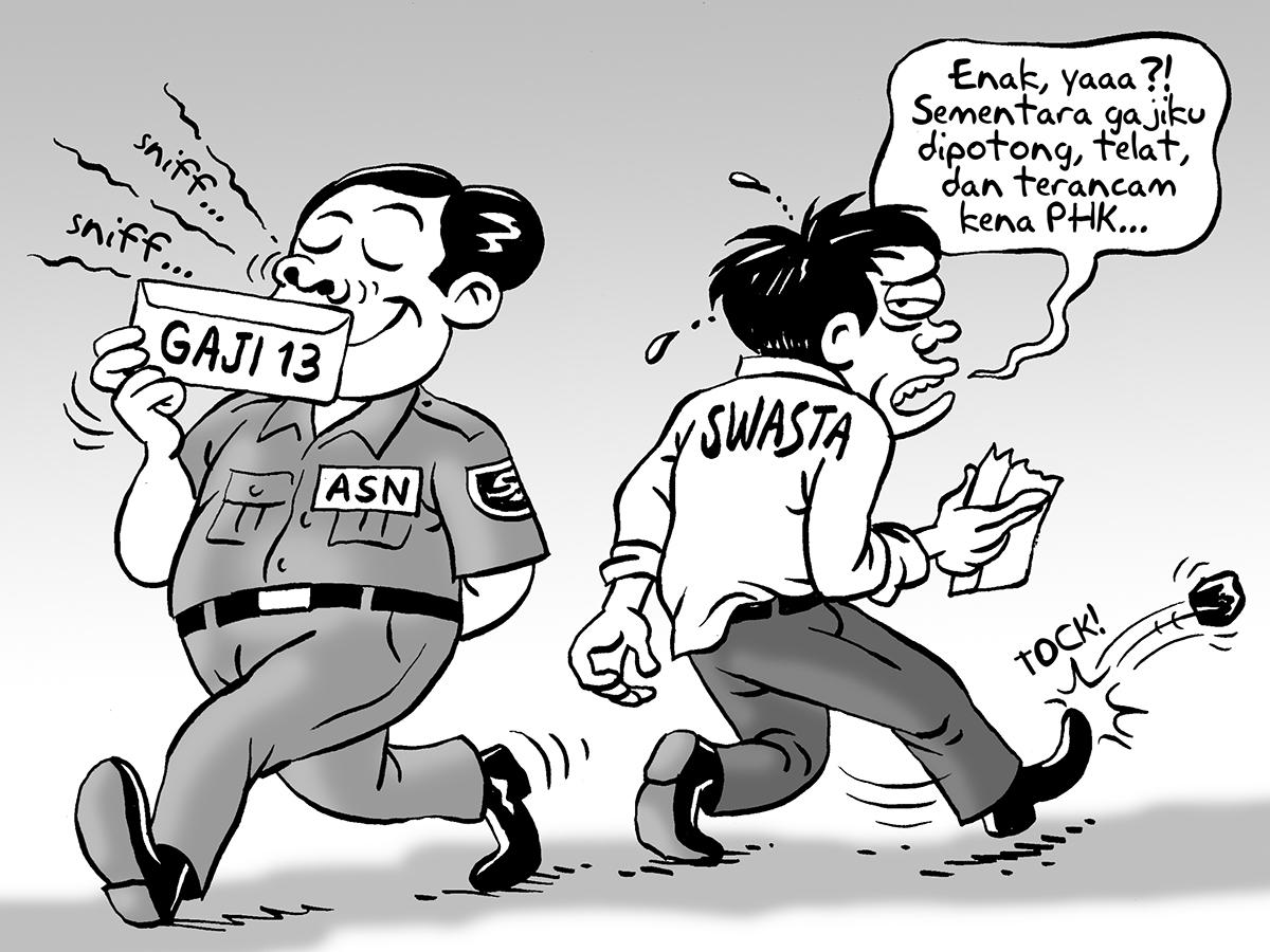 Benny Rachmadi - Gaji ASN vs Pegawai Swasta