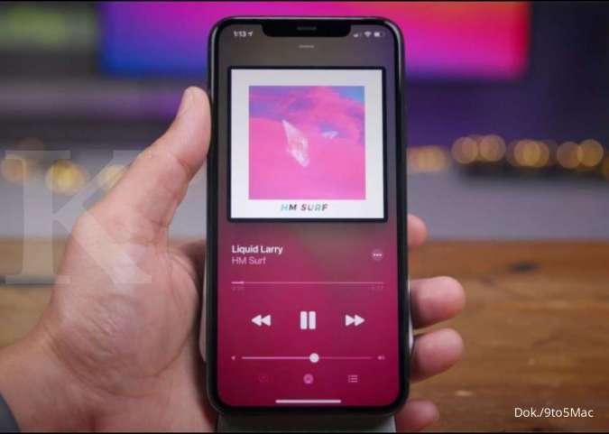 Tampilkan Aplikasi Musik di iOS 14