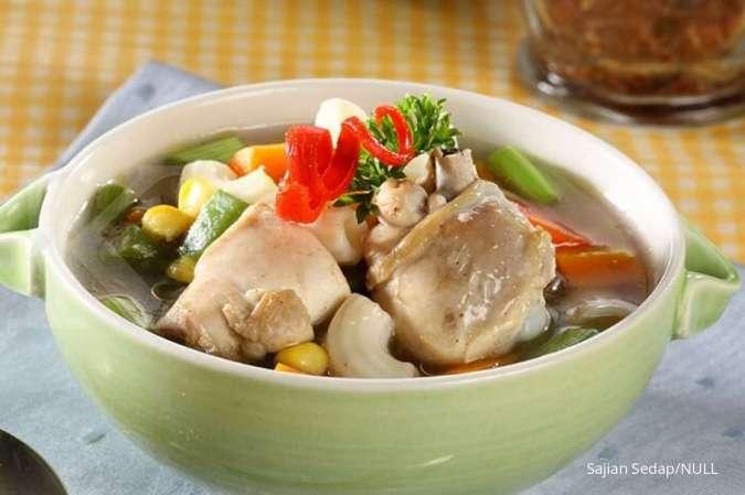 Sup bisa Anda manfaatkan sebagai obat sinusitis.