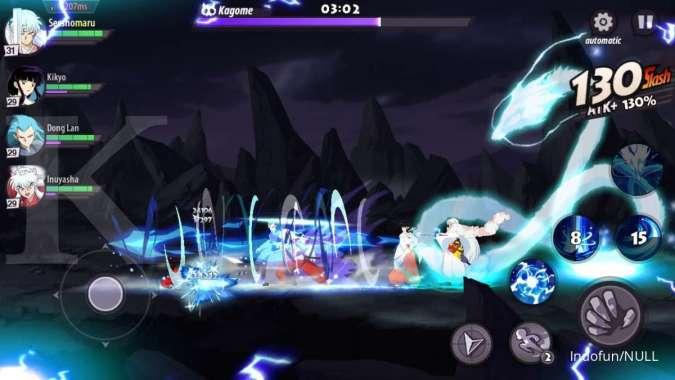 Game android bertema anime - Inuyasha Awakening