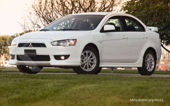 Harga mobil bekas Mitsubishi Lancer EX per Oktober 2020