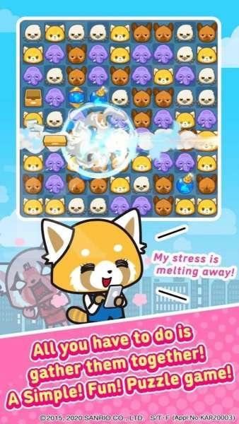 Game android bertema anime - Aggretsuko: the short timer strikes back