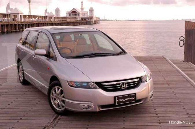 Sudah murah mulai Rp 110 juta, harga mobil bekas Honda Odyssey tahun segini