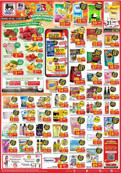 Promo Superindo 30 Juli 2 Agustus 2020 Ada Super Diskon Ulang Tahun Simak Daftar Lengkapnya Tribun Jateng