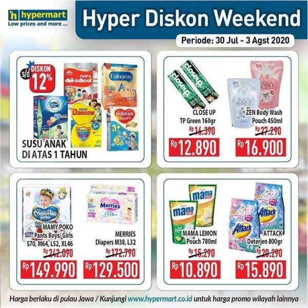Promo JSM Hypermart 30 Juli – 3 Agustus 2020