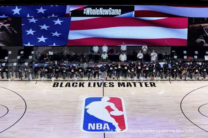 Jelang musim baru, hampir 9% pemain NBA dinyatakan positif Covid-19