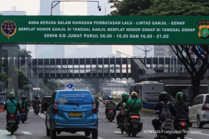Ganjil Genap 24 jam di seluruh ruas jalan jadi opsi untuk pengaturan pergerakan masyarakat selama Pembatasan Sosial Berskala Besar di Jakarta