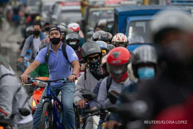 Salip Indonesia, kasus virus corona Filipina terba