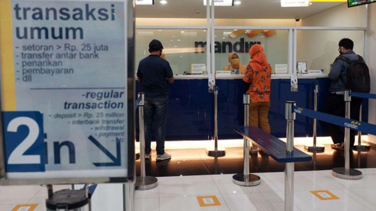 Realisasi kredit bank Himbara