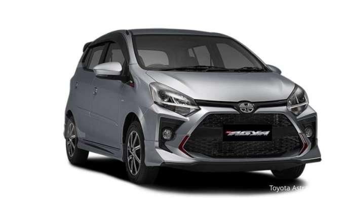 Harga mobil bekas Toyota Agya (TRD)