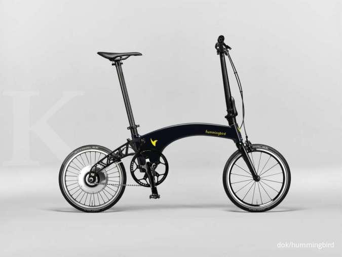 Harga sepeda lipat Hummingbird Electric paling mahal di