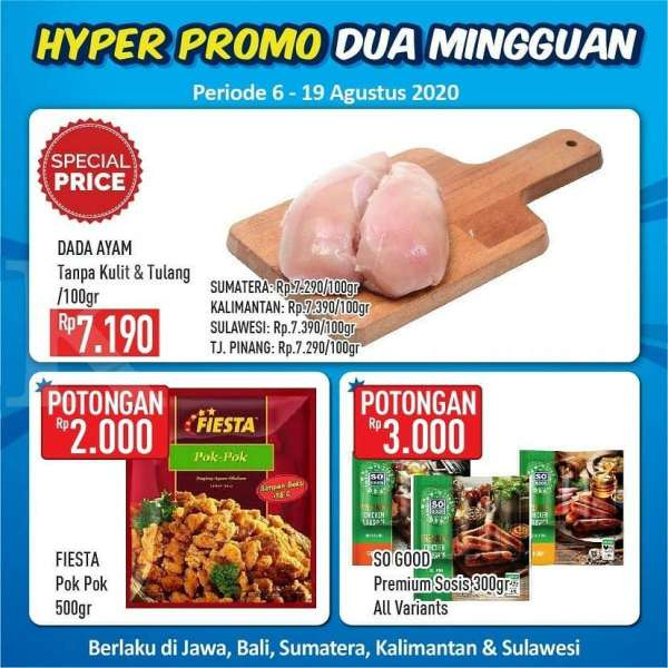 Promo Hypermart 6 – 19 Agustus 2020