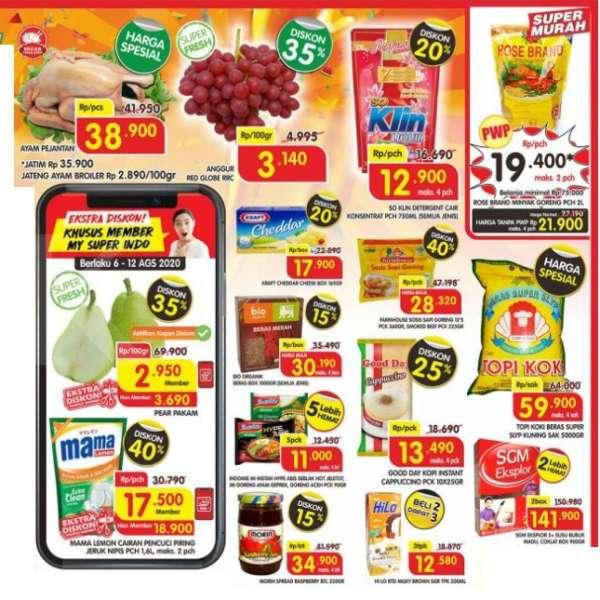 Katalog Promo Superindo Hari Kerja 10 13 Agustus 2020 Diskon Beras Sabun Hingga Minyak Goreng Tribun Jateng