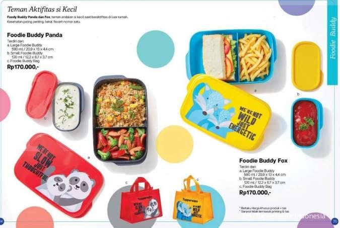 Tupperware promo Agustus 2020, bagi yang membutuhkan kotak bekal makanan