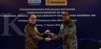 Kerjasama Maybank Indonesia dan Indomobil Finance Indonesia untuk pembayaran QR