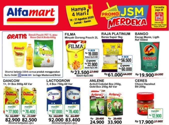 Katalog Promo Jsm Alfamart Dan Hypermart 14 17 Agustus Banyak Produk Berharga Miring Tribunnewswiki Com Mobile