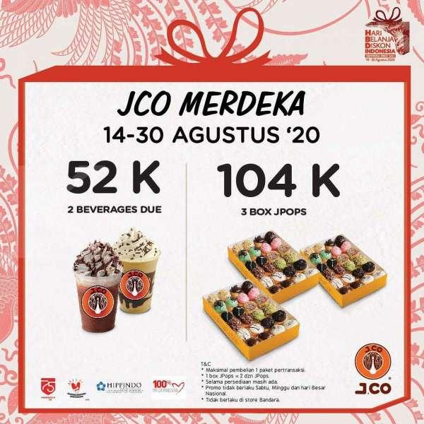 Promo J.CO 14 - 30 Agustus 2020