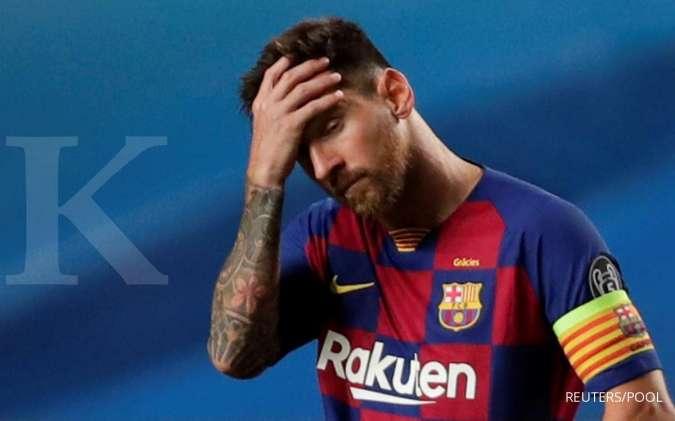 Lionel Messi bersama Sergio Ramos diminati oleh PSG