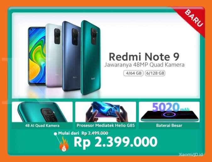 Promo harga Xiaomi Redmi Note 9